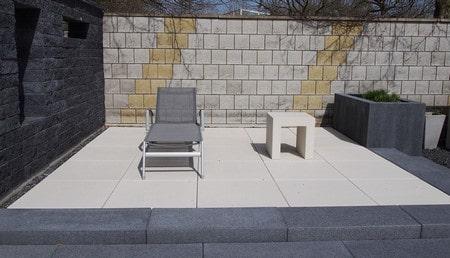 Rénover terrasse béton été